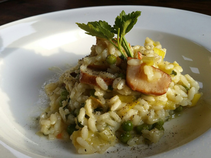 SMOKED SCALLOP RISOTTO